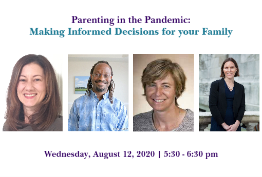 Parenting in the Pandemic image of speakers